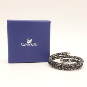 NWT Swarovski  Crystal Dust Double Bangle Bracelet